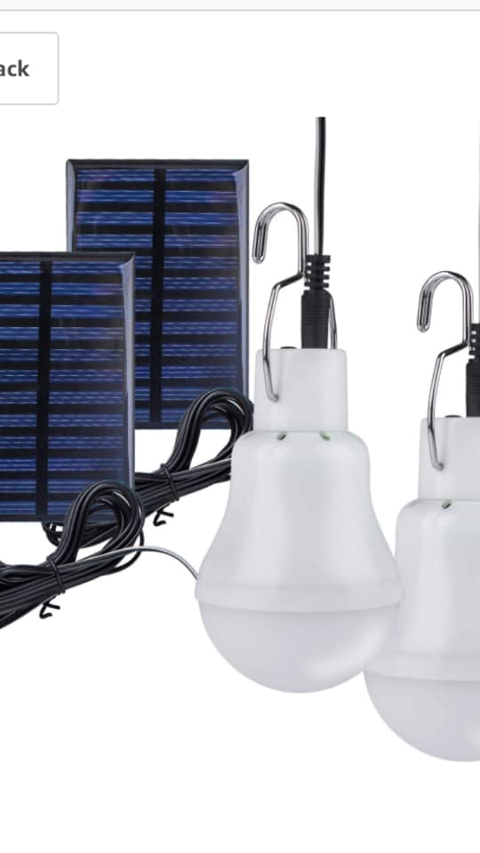lampe Solaire Niakhar