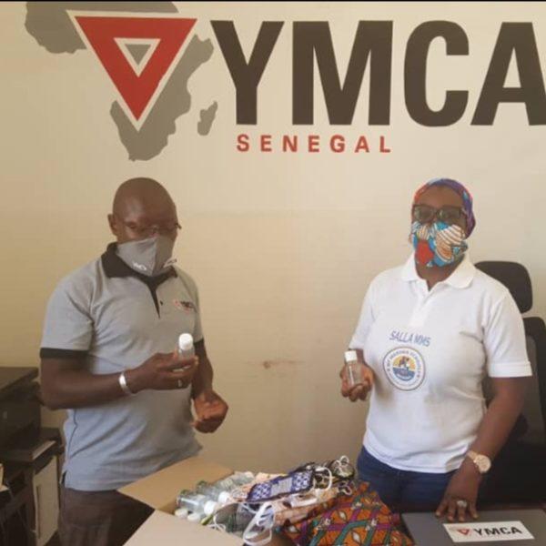 Salla Seck, Vice Présidente MMS, à YMCA Sénégal, partenaire MMS