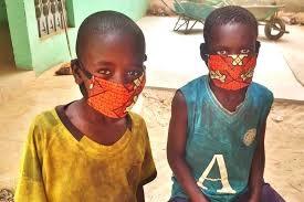 Talibés masque covid 19